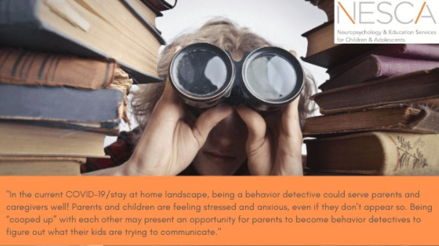Becoming a Behavior Detective