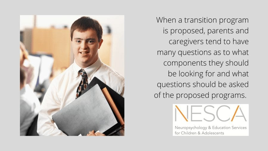 Helpful Tips for Selecting a Transition Program