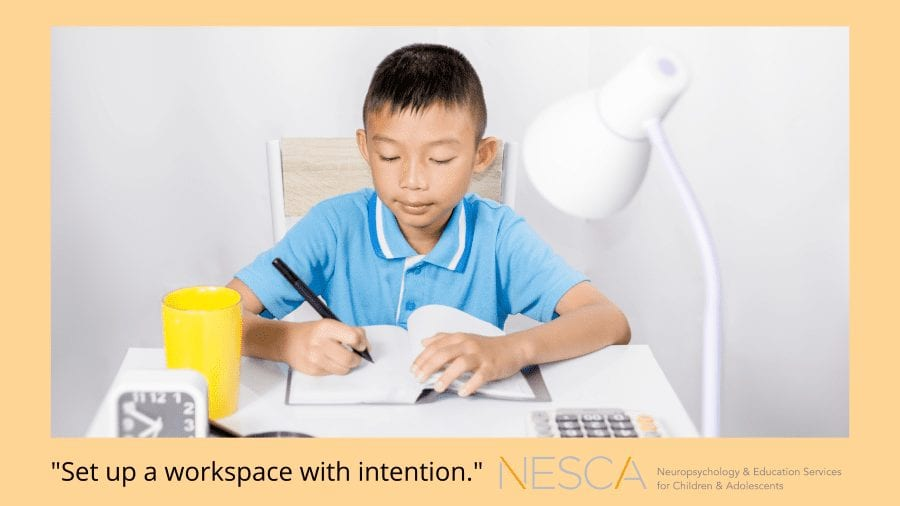 The Ideal Remote Learning Workspace
