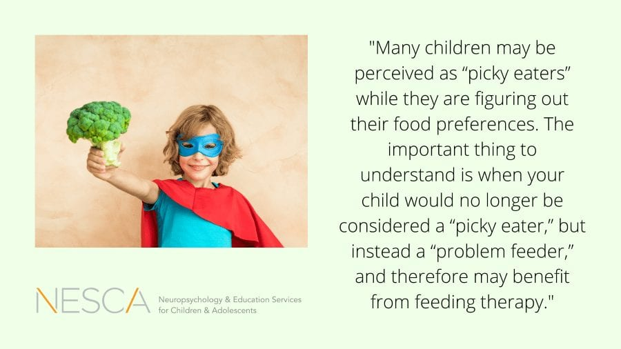 Is My Child a Picky Eater or Problem Feeder?