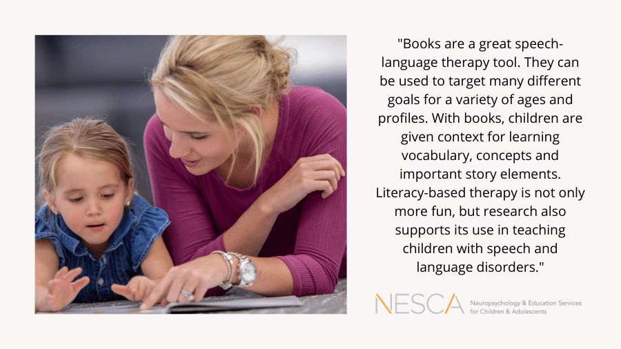 Literacy-based Speech Therapy: Winter Edition