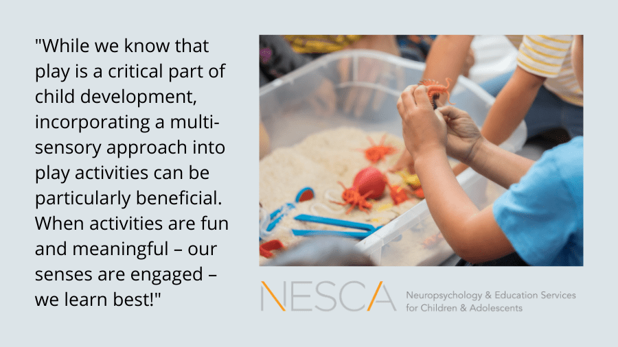 The Benefits of Sensory-based Play