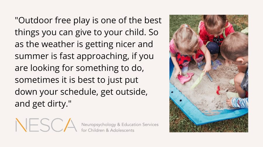 Why Kids Need to Outdoor Free Play