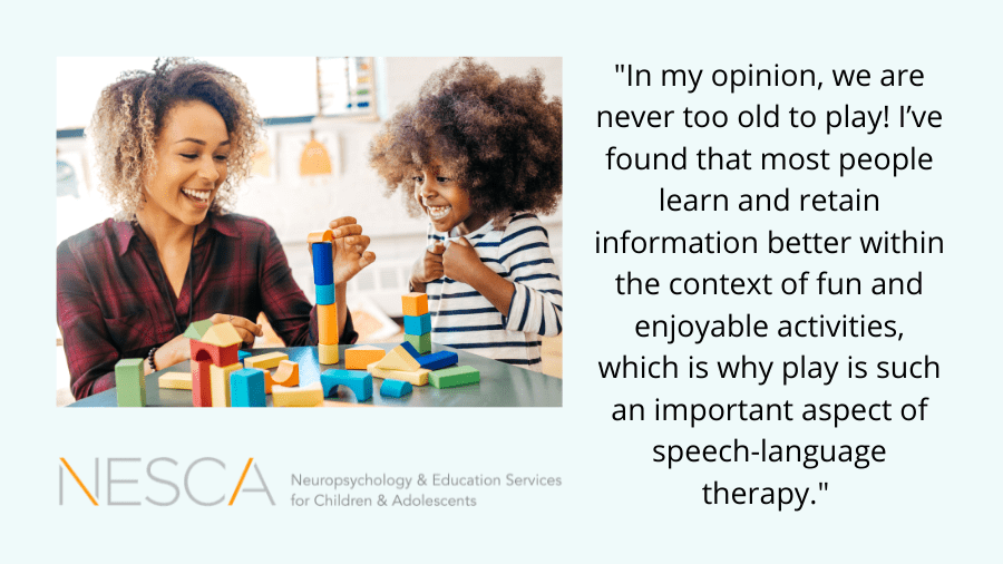 The Importance of Play in Speech-Language Therapy