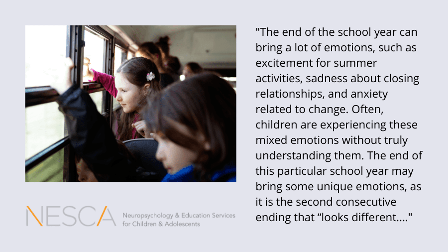 Dealing with End of the School Year Uncertainty