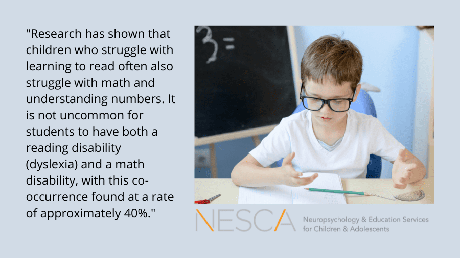 The Relationship Between Dyslexia and Dyscalculia