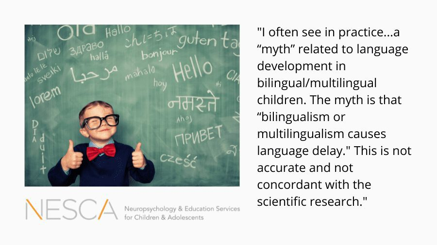 Myth Busters: Bilingualism and Language Delays in Young Children
