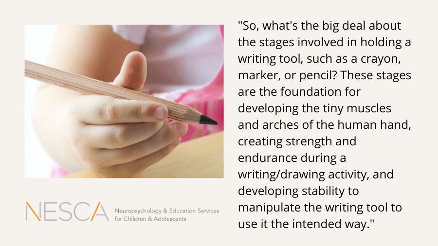 What's the Big Deal about a Pencil Grip?
