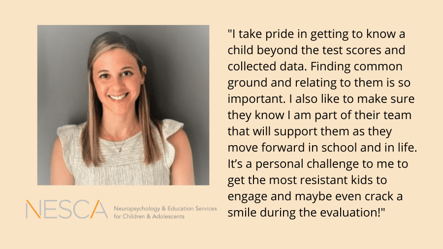 Meet NESCA Pediatric Neuropsychologist Miranda Milana, Psy.D.